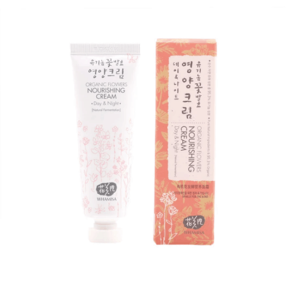 Whamisa Organic Flowers Nourishing Cream